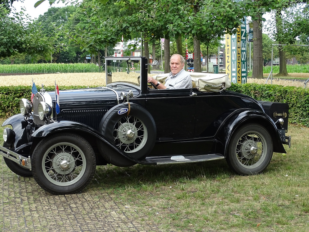 Ford type-A cabriolet